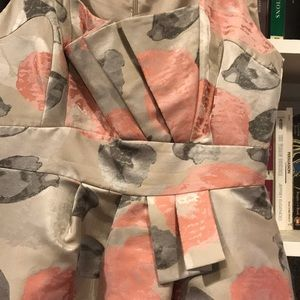 Jax Dresses - Pink and Gray Architectural Dress